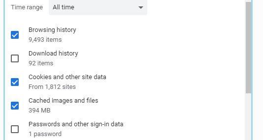 Use Chrome in Incognito mode