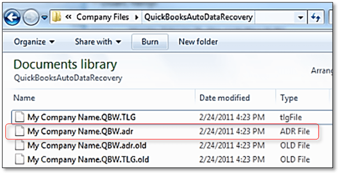 Use Auto Data Recovery to Restore the Backup