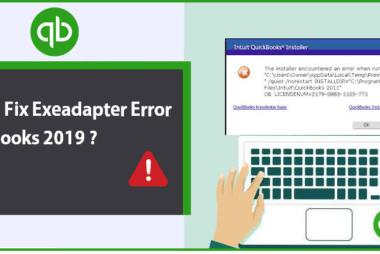 Exeadapter Error QuickBooks 2019