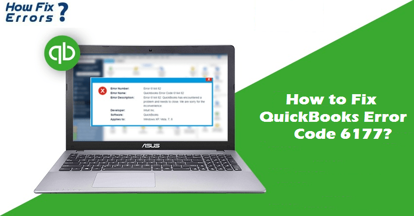 How to Fix QuickBooks Error 6177