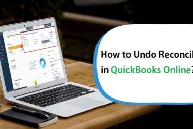 How to Undo Reconciliation in QuickBooks