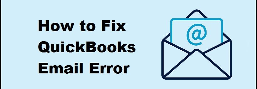 QuickBooks Email Error