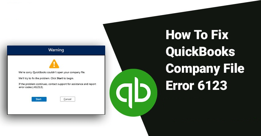 QuickBooks Error 6123,0