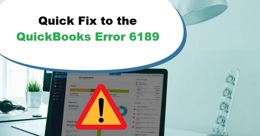 QuickBooks Error 6189