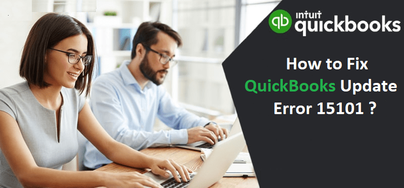 quickbooks update error 15101