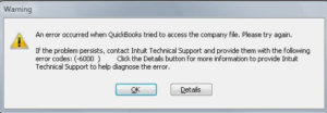 QuickBooks Error Code 6000 304