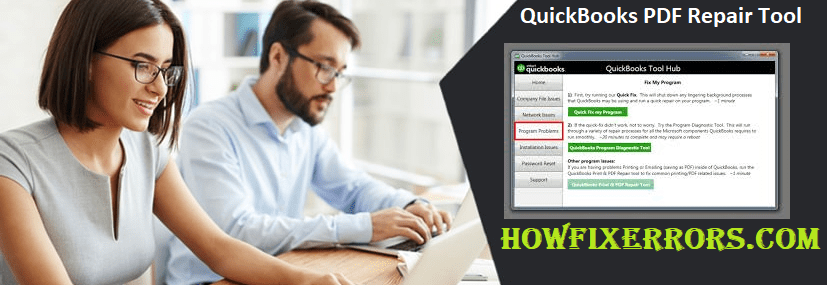 QuickBooks PDF Repair Tool.