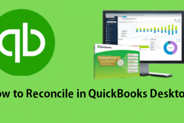 how to reconcile in QuickBooks Desktop