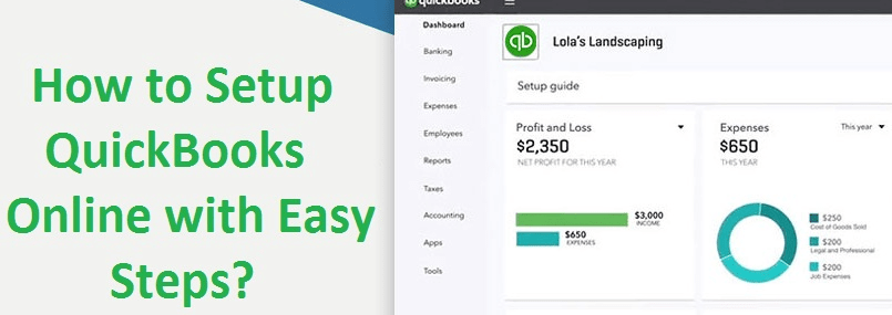 how to setup quickbooks online