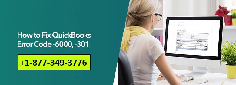 QuickBooks Error Code 6000-301