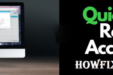 QuickBooks Remote Access Tool.