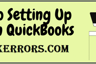Setting Up Loan in QuickBooks.