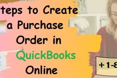 Create a Purchase Order In QuickBooks Online