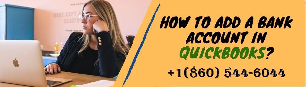Add a Bank Account in QuickBooks