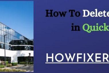 How To Delete a Company in QuickBooks_