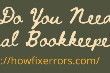 Why Do You Need a Virtual Bookkeeper